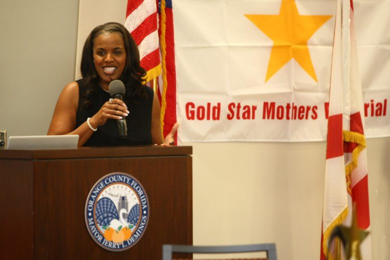 Yolanda Frazier at Orange County Gold Star Mothers & Families Day Ceremony